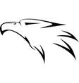 eagl head vector image