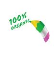organic pencil vector image