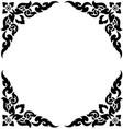 corner frame 02 vector image