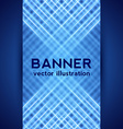 Dark Blue Digital Banner vector image