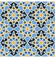 Fashion ornamental seamless pattern in arabesque vector image