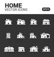 Homes vector image