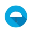 Umbrella icon Protection from rain vector image