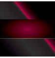 red carbon background vector image vector image