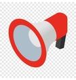 Loudspeaker isometric 3d icon vector image