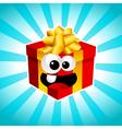 Cartoon Gift Box vector image