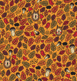 Cute Autumn pattern vector image vector image