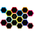 honey comb 2012 vector image