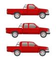 car pickup truck vector image