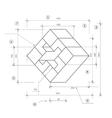 Drawing a sketch vector image