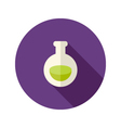 Halloween Potion Flat Icon vector image
