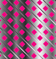Background with pink squares vector image