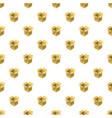 open empty cardboard pattern vector image
