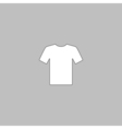 t-shirt computer symbol vector image