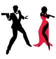 Spy Couple vector image