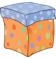 Box for gifts vector image vector image
