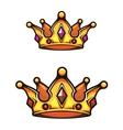 Vintage heraldic crown vector image