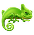Cute chameleon vector