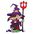 wizard boy vector image vector image