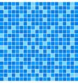 Blue tile wall vector image