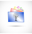 Icon of collection of photos in color vector image