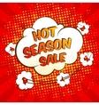 Sale speech bubble vector image vector image