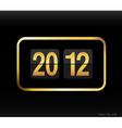 flip clock vector image
