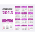 calendar 2013 new vector image