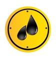oil drop icon image vector image