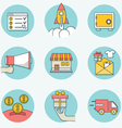 Set of business icons - part 2 vector image