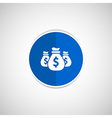 money bags edit layers icon funds buy vector image