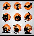 Icons halloween Vector Image