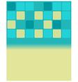 blue mosaic tiles vector image