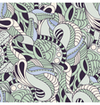 Soft color floral seamless pattern vector image