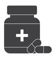 pharmaceutical drugs icon vector image