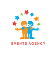 events agency vector image vector image