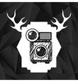 retro style photo vector image