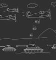 World war vector image vector image