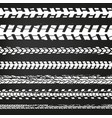 motorcycle tire tracks-02 vector image
