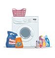 Washing set vector image