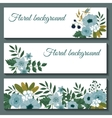 Cute web banners design template vector image