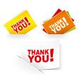 Grateful cards vector image