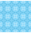 seamless blue and white pattern with figures vector image vector image