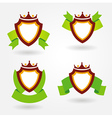 blazon design set vector image