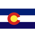 Colorado vector image