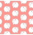 Piggy bank Seamless pattern vector image