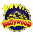 Hollywood vector image