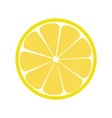 lemone icon citrus refreshing drink vector image