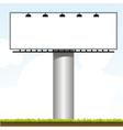 outdoor billboard vector image