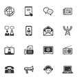 Communication Icons - Set 2 vector image vector image
